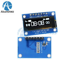 "SPI 0.91"" inch 128x32 White OLED LCD Display Module SSD1306 For Arduino STM32 51"