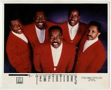 Ali-Ollie Woodson HAND SIGNED 8x10 Photograph! The Temptations! R&B! Rare!