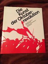 1986 EXTRA RARE ALBUM PROPAGANDA ART OF RUSSIAN OCTOBER REVOLUTION IN GERMAN!