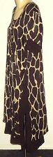 TROPICAL BATIQUE AnimalPrintKneeHiSideSplits Size14 asNEW