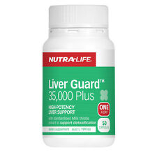 NutraLife Liver Guard 35,000 Plus 50 capsules ( High Potency Liver Support )