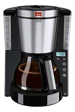Melitta Look Timer Kaffeekanne mit Filter-Glas-Stunde AromaSelector Programmierb