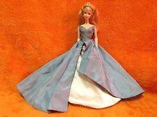 Grand Entrance Barbie In Her Powder Blue Taffeta Ball-Gown