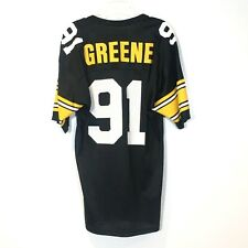 4a60f6bd629 Vintage Pittsburgh Steelers Jersey #91 Kevin Greene Champion Size 40 HOF  90's