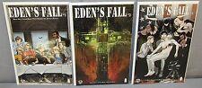 EDEN'S FALL #1 2 3 (Full Run) High Grade Image Postal Tithe Think Tank x-over