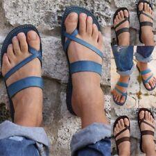 Women Clip Toe Thong Sandal Flats Slipper Slides Flip Flop Roma Galadiator Beach