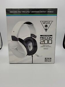 Turtle Beach Recon 200 Multi Platform Gaming Headset - White TabTech