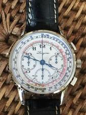 Relojes de pulsera automático Longines de cuero
