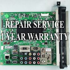 Premium Mail-in Repair Service For LG 60PK750 Main Board 1 YEAR WARRANTY
