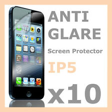 10 x Anti Glare LCD Matte Screen Protector Guard Film Cover for Apple iPhone 5