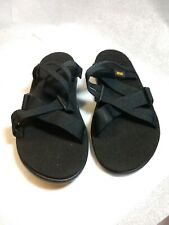 Teva Women's Voya Slide Sandal Samples Black Size 7 (B)