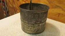 Antique Tin Flour Sifter I-H Ismert-Hincke Kansas City, Mo
