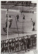 * WWII - Football Match in London between 2 departments of the UK Army, Gas Mask