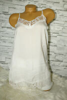 Italy Tunika Hängerchen rosa 36 38 40 edel Spitze Top blogger Shirt