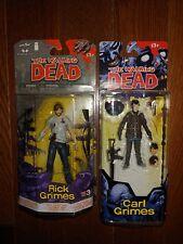 The Walking Dead Rick Grimes Figure Carl Grimes Figure Comics toys Mcfarlane