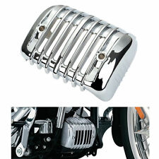 Chrome Voltage Regulator Cover For Harley Heritage Softail Classic FLSTC 2001-16