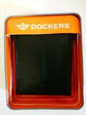 Dockers Leather Bi-fold Wallet Black