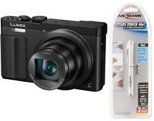 Panasonic Lumix DMC TZ71 EG K = schwarz Digitalkamera  TZ 71 + Geschenk 4in1
