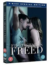 Fifty Shades Freed DVD Brand New & Sealed Fast Postage