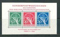 Berlin Währungsgeschädigten Block 1 - postfrisch ** signiert Rehfeld - Mi. 950,-