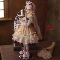 1/3 Mädchen Puppe 60cm BJD Dolls Prinzessin mit veränderbaren Augen Perücken Toy