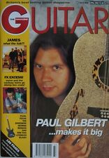 Guitar Magazine - October 1993 - Paul Gilbert, Texas, George Benson