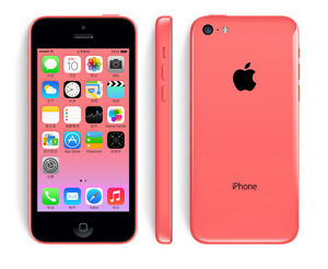 Original Unlocked Apple iPhone 5C - iOS 32GB 4.0 Inch 4G LTE Siri 8MP Smartphone