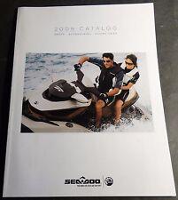 2009 SEA DOO PARTS, ACCESSORIES, AND RIDING GEAR SALES CATALOG BROCHURE (315)