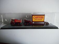 Atlas Editions 4 656 101 Carters Foden Generator Tractor & Low Loader Cert of Au
