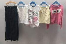 Girls Bundle Of Clothes. Age 9-10. Hello Kitty, Next, Denim Co. <A3545
