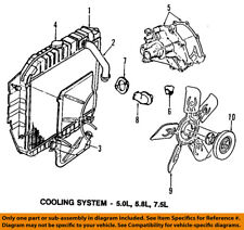 FORD OEM E-350 Econoline Club Wagon Cooling System-Thermostat Gasket C8SZ8255A
