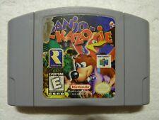 Banjo-Kazooie (Nintendo 64, 1998) Authentic N64 Game Good Condition