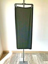Chico's Travelers Black Acetate/Spandex Skirt - 2 (Chico's Large)