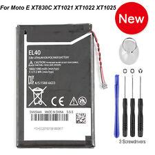 New El40 1980mAh Battery For Motorola Moto E Xt1021 Xt1022 Xt1023 Xt1025 Xt830C
