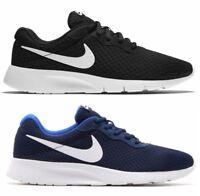 NIKE TANJUN scarpe uomo sneakers running ginnastica tela casual blu casual fit