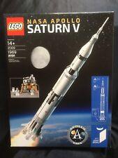 LEGO IDEAS NASA Apollo Saturn V 21309 BRAND NEW FACTORY SEALED