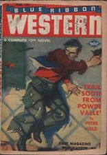 Blue Ribbon Western 1943 February.  Pulp