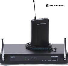 Trantec S4.4L Radio Wireless Lapel Lavalier Tie-Clip Microphone Mic Set S4.4 UHF