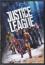 Dvd JUSTICE LEAGUE Batman+Superman+Wonder Woman+Flash+Aquaman+Cyborg nuovo 2017