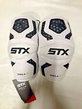 Stx Cell Iv Lacrosse Arm Pad White Large *New With Tag*