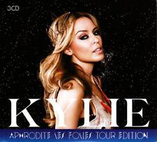KYLIE MINOGUE APHRODITE LES FOLIES TOUR EDITION 3 CD DIGIPAK