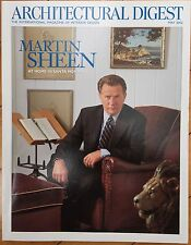 Architectural Digest Magazine - May 2002 Martin Sheen At Home In Santa Monica