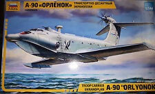 Ekranoplan A-90 Ekranoplano - Zvezda Kit 1:144 7016 Nuovo