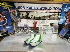 Libor Karas Volvo Cannondale Team  OT Pi Monty (Alpinestars) Trials Shoes 9 RARE
