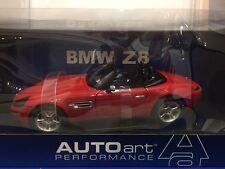 1/18 AUTOart Performance BMW Z8 Roadster Imola Red/black