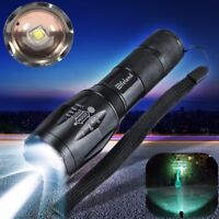 50000Lm  Elfeland Tactical T6 LED 5-Mode Torch Zoomable Flashlight E !