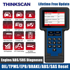 Check Engine ABS SRS OBD2 Scanner OIL TPMS EPB Brake SAS Diagnostic Scan Tool