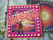 a941981 HK CD The Very Best Disco in Town Columbia 491543-2 Jacksons Gloria Gaynor Sister Sledge Chic Anita Ward ( One CD Only ) Silver Convention