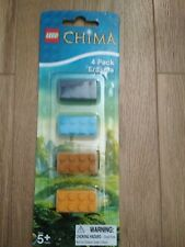 lego chima 4 pack erasers new