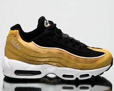 Nike Air Max 95 LX UK 6.5 EUR 40.5 Gold Black Women's Casual Sneakers AA1103 701